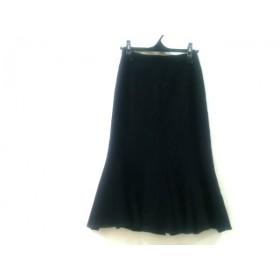【中古】 エポカ EPOCA ロングスカート サイズ40 M レディース 黒