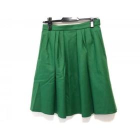 【中古】 マッキントッシュフィロソフィー スカート サイズ38 L レディース グリーン