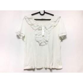 【中古】 ギャラリービスコンティ GALLERYVISCONTI 半袖Tシャツ サイズ2 M レディース 白 フリル