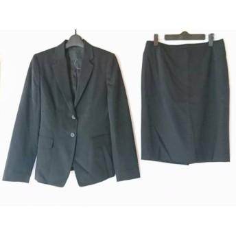【中古】 アンタイトル UNTITLED スカートスーツ サイズ3 L レディース 黒