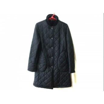 【中古】 マッキントッシュ MACKINTOSH コート サイズ36 S レディース 黒 キルティング