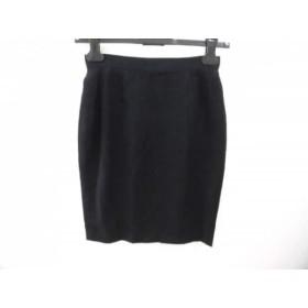 【中古】 カサンドレ cassandre スカート サイズ9 M レディース 黒