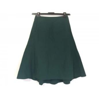 【中古】 ヨリ yori スカート サイズ36 S レディース グリーン