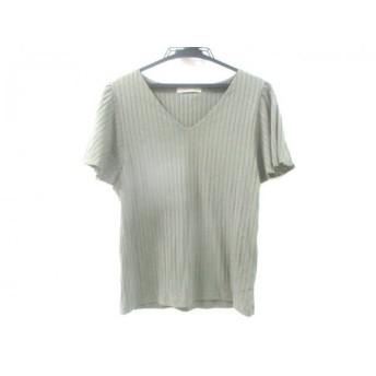 【中古】 セシルマクビー CECILMcBEE 半袖Tシャツ サイズM レディース カーキ