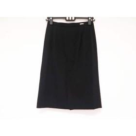 【中古】 ダックス DAKS スカート サイズ38 L レディース 黒