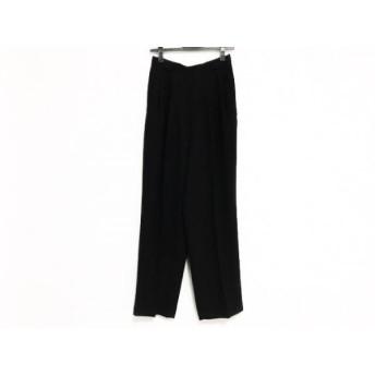 【中古】 イタリヤ 伊太利屋/GKITALIYA パンツ サイズ9 M レディース 黒 ラインストーン