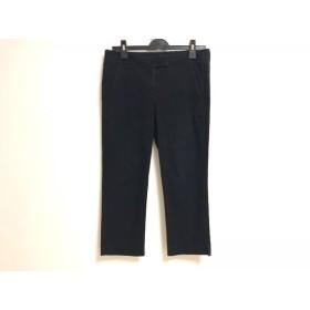 【中古】 セオリー theory パンツ サイズ4 S レディース ネイビー