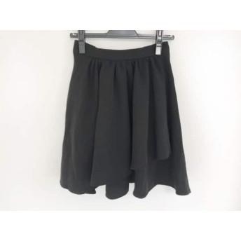 【中古】 グレイル GRL ミニスカート サイズM レディース 黒