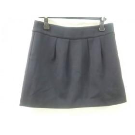 【中古】 ザラ ZARA ミニスカート サイズL レディース ブラック