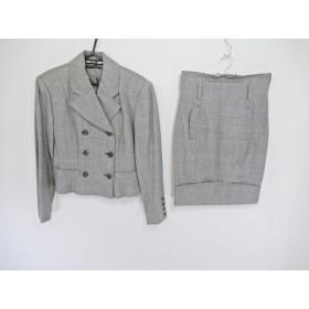 【中古】 49アベニュージュンコシマダ スカートスーツ サイズ9 M レディース チェック柄