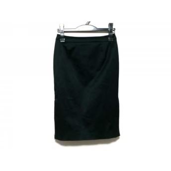 【中古】 ルスーク Le souk スカート サイズ36 S レディース 黒