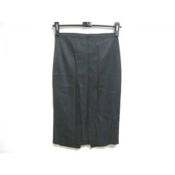 【中古】 ディーアンドジー D & G スカート サイズ24/38 レディース 黒
