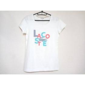 【中古】 ラコステ Lacoste 半袖Tシャツ サイズ40 M レディース 白 マルチ