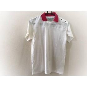 【中古】 マンシングウェア Munsingwear 半袖ポロシャツ レディース 白 レッド Grand Slam