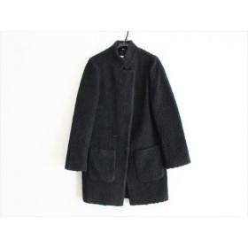 【中古】 アクアガール aquagirl コート サイズ38 M レディース 黒 冬物