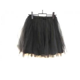 【中古】 ビリティス Bilitis スカート サイズ36 S レディース 黒 チュールスカート