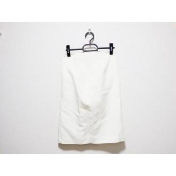 【中古】 バレンチノローマ VALENTINO ROMA スカート サイズ38 M レディース アイボリー