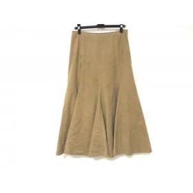【中古】 ジユウク 自由区/jiyuku スカート サイズ40 M レディース ベージュ