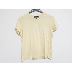 【中古】 ポロスポーツラルフローレン PoloSportRalphLauren 半袖Tシャツ サイズM レディース ベージュ