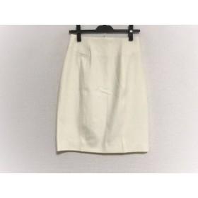 【中古】 ナラカミーチェ NARACAMICIE スカート サイズ1 S レディース 美品 アイボリー