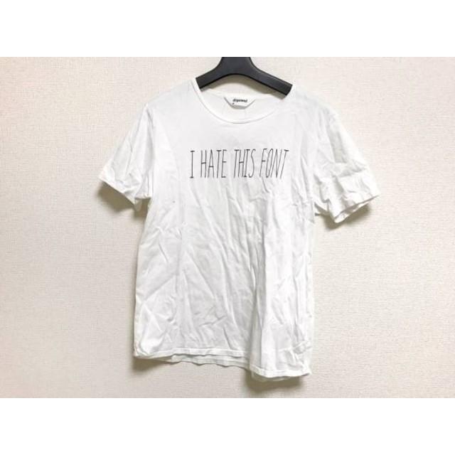 【中古】 ディガウェル DIGAWEL 半袖Tシャツ サイズ1 S メンズ アイボリー