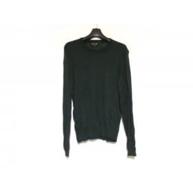 【中古】 ドゥロワー Drawer 長袖Tシャツ サイズ2 M レディース 黒