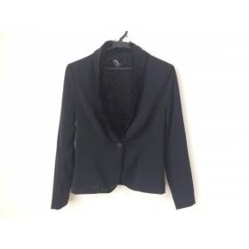 【中古】 パオラ フラーニ PAOLA FRANI ジャケット サイズ40 M レディース 黒