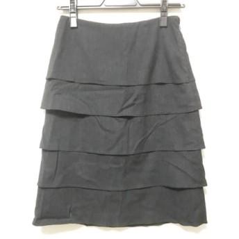 【中古】 エポカ EPOCA スカート サイズ38 M レディース 黒
