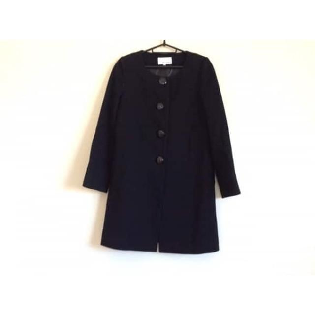 【中古】 エムズセレクト m's select コート サイズ36 S レディース 黒 冬物