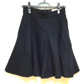 【中古】 シンゾーン Shinzone スカート サイズ36 S レディース 黒