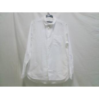 【中古】 ノーブランド 長袖シャツ サイズ2 M メンズ 白