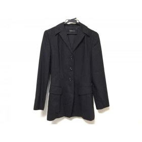 【中古】 エポカ EPOCA ジャケット サイズ40 M レディース 美品 ダークグレー