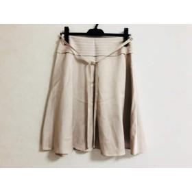 【中古】 トゥービーシック TO BE CHIC スカート サイズ40 M レディース ピンクベージュ