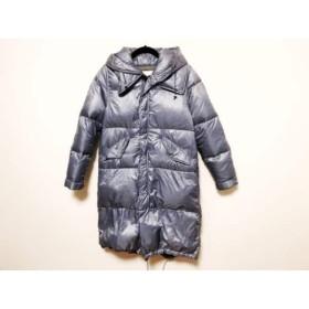 【中古】 ルシェルブルー LE CIEL BLEU ダウンコート サイズ40 M レディース 美品 ブルー 冬物