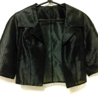 【中古】プリフェレンス PREFERENCE ジャケット サイズ9 M レディース 黒 シースルー