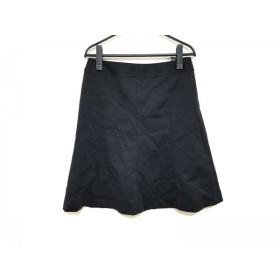 【中古】 ジユウク 自由区/jiyuku スカート サイズ40 M レディース 黒