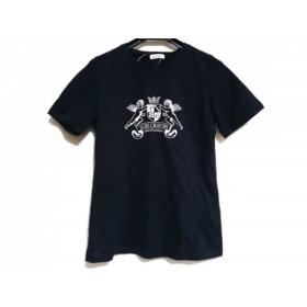 【中古】 ロイスクレヨン Lois CRAYON 半袖Tシャツ サイズM レディース 黒 白
