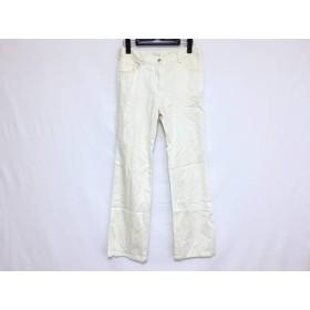 【中古】 ハロッズ HARRODS パンツ サイズ3 L レディース アイボリー