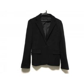 【中古】 エムプルミエ M-PREMIER ジャケット サイズ38 M レディース 黒