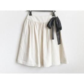 【中古】 トゥービーシック TO BE CHIC 巻きスカート サイズ38 M レディース アイボリー