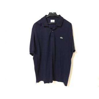 【中古】 ラコステ Lacoste 半袖ポロシャツ サイズ7 メンズ パープル