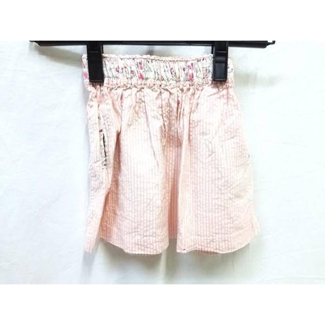 【中古】 キャシャレル cacharel スカート サイズ94 レディース ピンク アイボリー マルチ