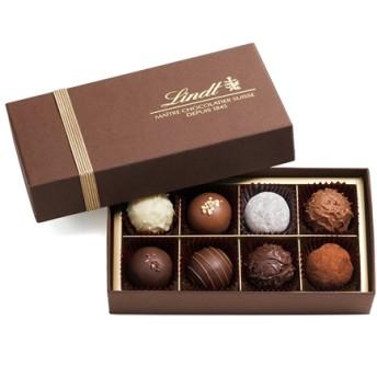 リンツ Lindt チョコレート チョコ スイーツ ギフト トリュフ ギフトボックス 8個入り