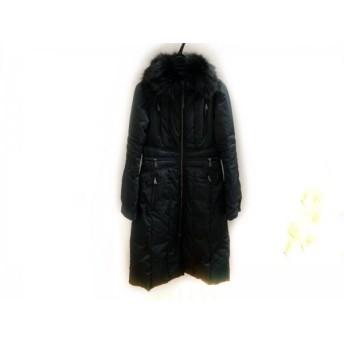 【中古】 エポカ EPOCA ダウンコート サイズ40 M レディース 美品 黒 冬物