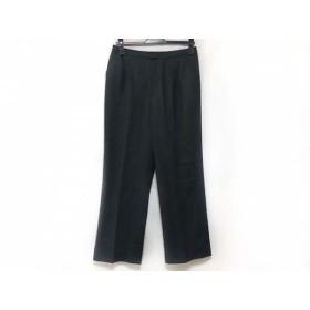 【中古】 レリアン Leilian パンツ サイズ13 L レディース ダークグレー