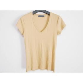 【中古】 ラルフローレン RalphLauren 半袖Tシャツ サイズ38 M レディース ベージュ