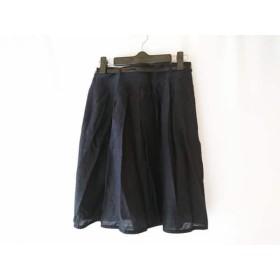 【中古】 ナラカミーチェ NARACAMICIE スカート サイズ1 S レディース 美品 黒