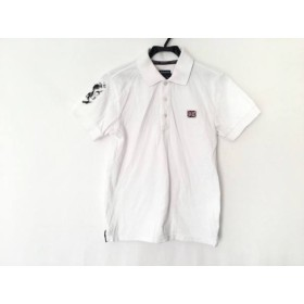 【中古】 アドミラル Admiral 半袖ポロシャツ サイズS メンズ アイボリー