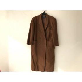 【中古】 クレデゾーン CLE des ZONES コート サイズ9 メンズ ブラウン 冬物