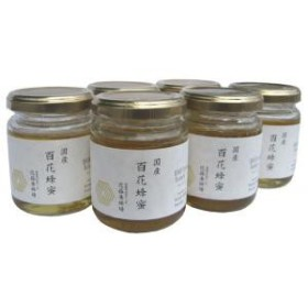 近藤養蜂場 国産百花蜂蜜 140g×6個セット(代引き不可)